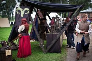 Hämeen Keskiaikamarkkinat. Kuvaaja: Piia Niemi
