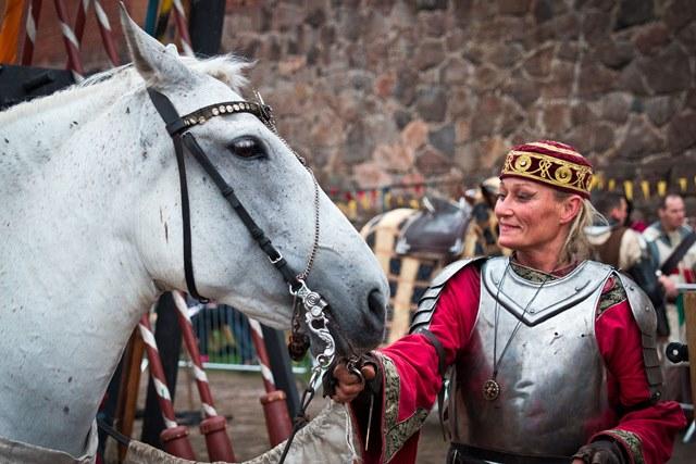 Rohan Tallit, Hämeen Keskiaikamarkkinat. Kuvaaja: Piia Niemi