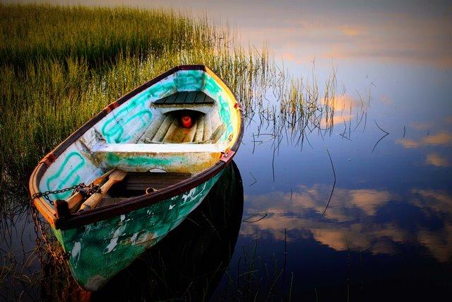 Vene Jalasjärven rannalla. Kuva: Niko Saarinen Photography