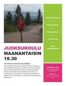 Maratonjuoksukoulu: Tavoitteena maraton tai puolikas