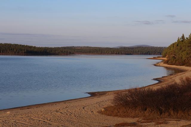 Utkujärven hiekkaranta, Yli-Muonio