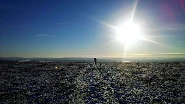 Taivaskeron kierros (9 km) Pallaksella on yksi kauneimmista reiteistä Muoniossa.