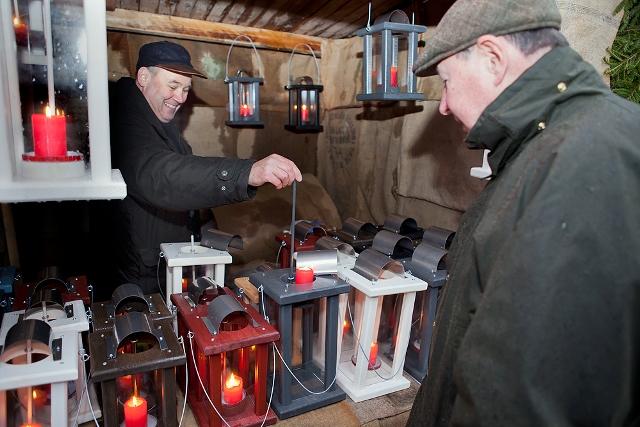 Lohjan Menneen Ajan Joulumarkkinat 13.-14.12. Kuva: Lohjan matkailu
