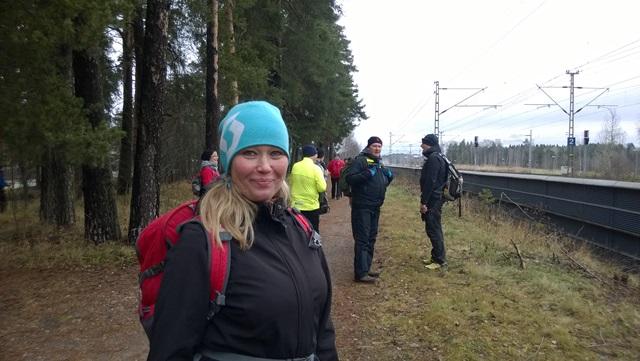 Näyttelijä, kouluttaja Outi Mäenpää osallistui reissuun ystävänsä innoittamana.