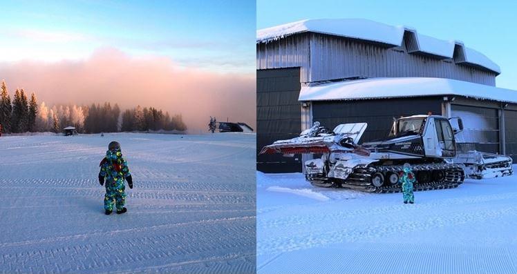 Riihivuorella riittää ihasteltavaa ja ihmeteltävää pienemmällekin väelle. Kuva: KivaaTekemistä.fi