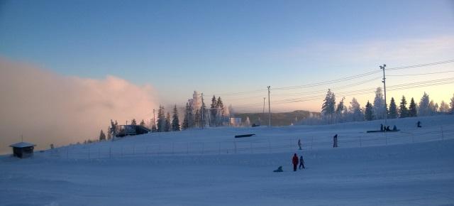 Hiihtokeskus Riihivuori 12/2014. Kuva: KivaaTekemistä.fi