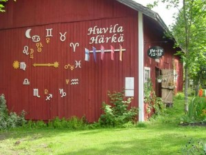 Astrologinen elämyspuisto ja kesäkahvila Huvila Härkä. Kuva: Someron matkailu