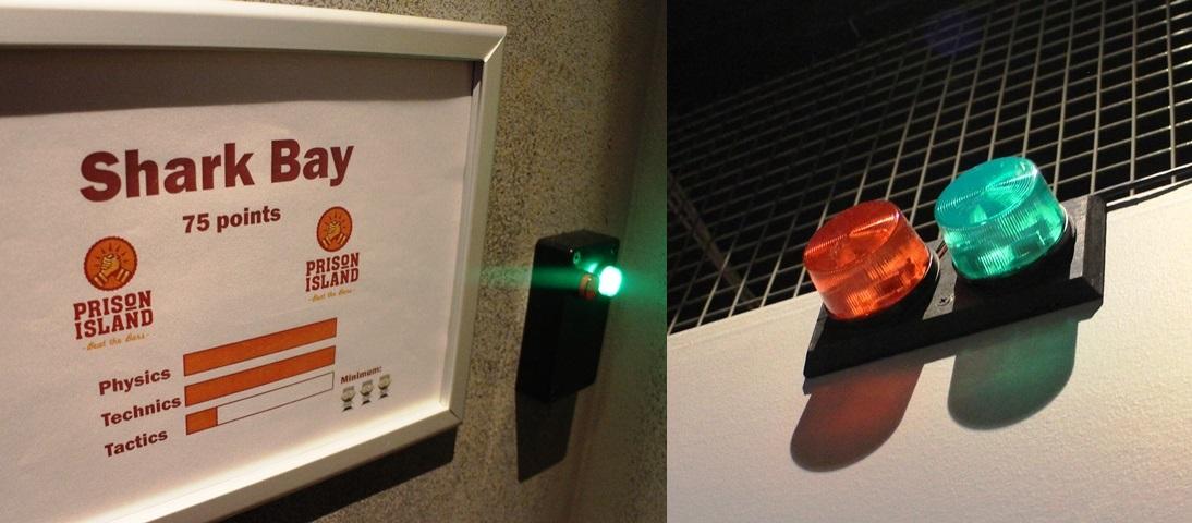 Mentäiskö tuonne? Mitenkähän sellin vihreän valon saisi syttymään... Kuva: KivaaTekemistä.fi