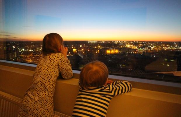 Break Sokos Hotel Flamingon hotellihuoneen ikkunasta oli upeat näkymät. Kuva: KivaaTekemistä.fi