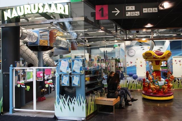 Flamingo Spa:n Naurusaari on paras paikka kuluttaa viimeiset energiat. Kuva: KivaaTekemistä.fi