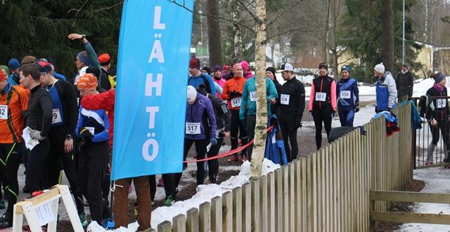 Winter Trail Run Cup, Tuusula. Kuva: KivaaTekemistä.fi