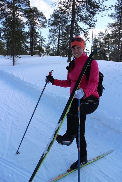 Sarin suksi ei toiminut optimaalisesti. :) Kuva: KivaaTekemistä.fi