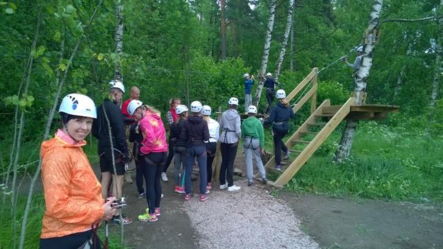Harjoittelurata. Kuva: KivaaTekemistä.fi