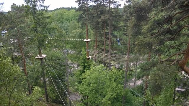 Hulppeita näkymiä, vasemmalla puiden takana yleisurheilustadion. Kuva: KivaaTekemistä.fi