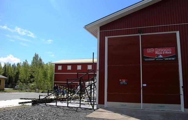Ulkorata oli rakennusvaiheessa kesäkuun alussa. Kuva: KivaaTekemistä.fi