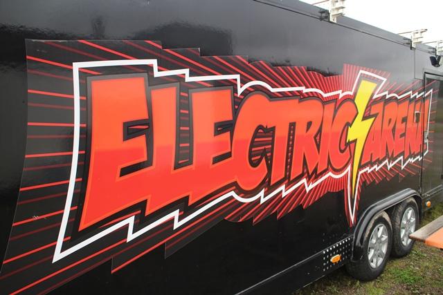 Electric Arenan reissuvaunu. Kuva: KivaaTekemistä.fi