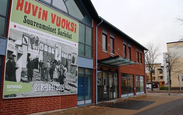 Taide- ja museokeskus Sinkka, Kerava. Kuva: KivaaTekemistä.fi