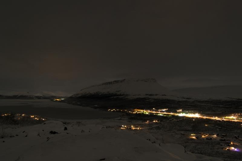 Kilpisjärvi by night. Kuva: Playa del Kilpis Tours