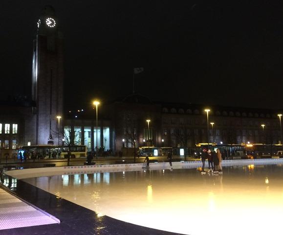 Jääpuisto, Helsinki. Kuva: KivaaTekemistä.fi