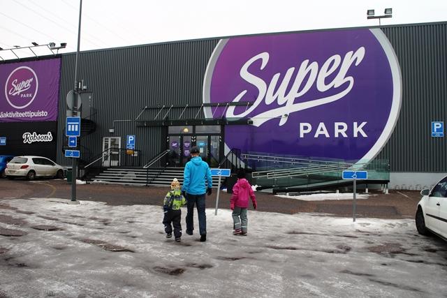 SuperPark Vantaa. Kuva: KivaaTekemistä.fi