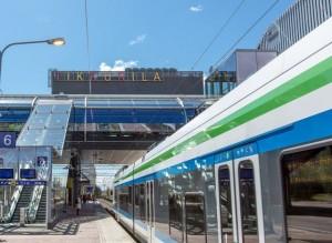Tikkurilan uusi ja moderni rautatieasema. ... </p> <a class=