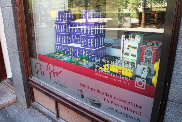 Helsingin Pii Poon näyteikkuna. Kuva: KivaaTekemistä.fi